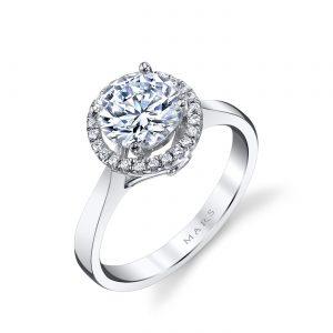 Halo Engagement RingStyle #: MARS 25594
