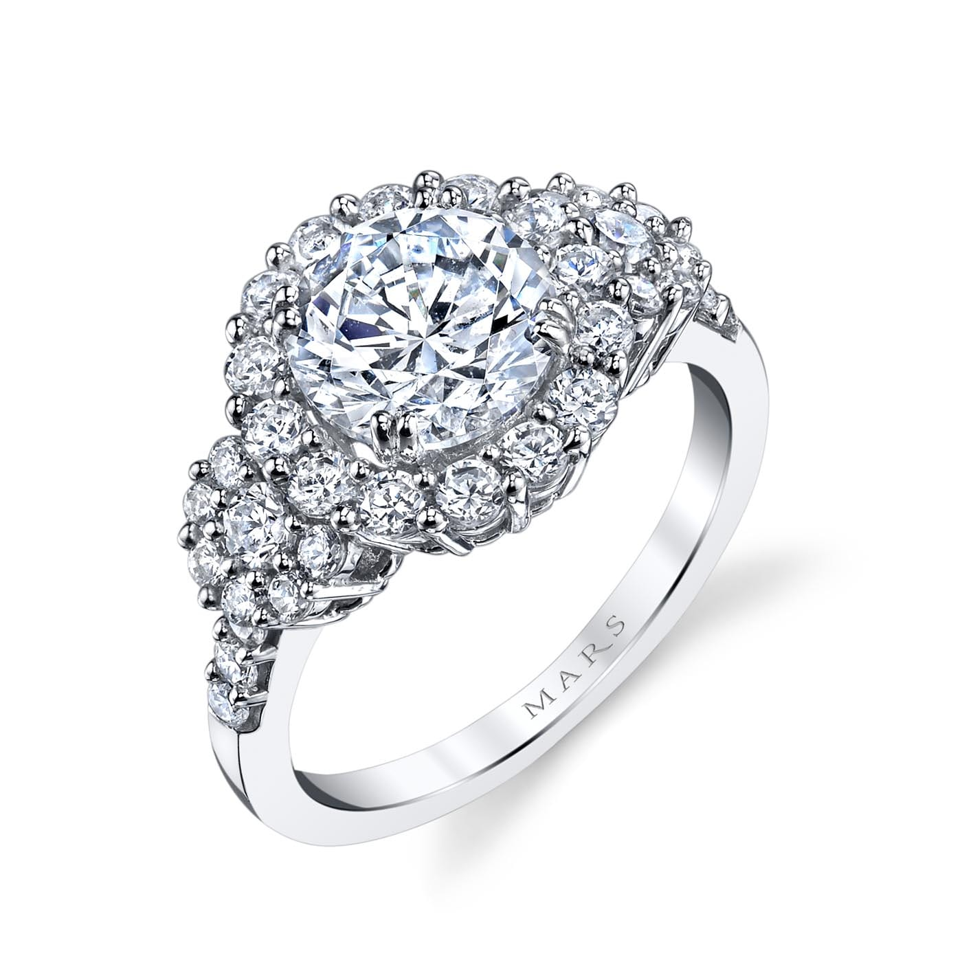 Halo Engagement RingStyle #: MARS 25606