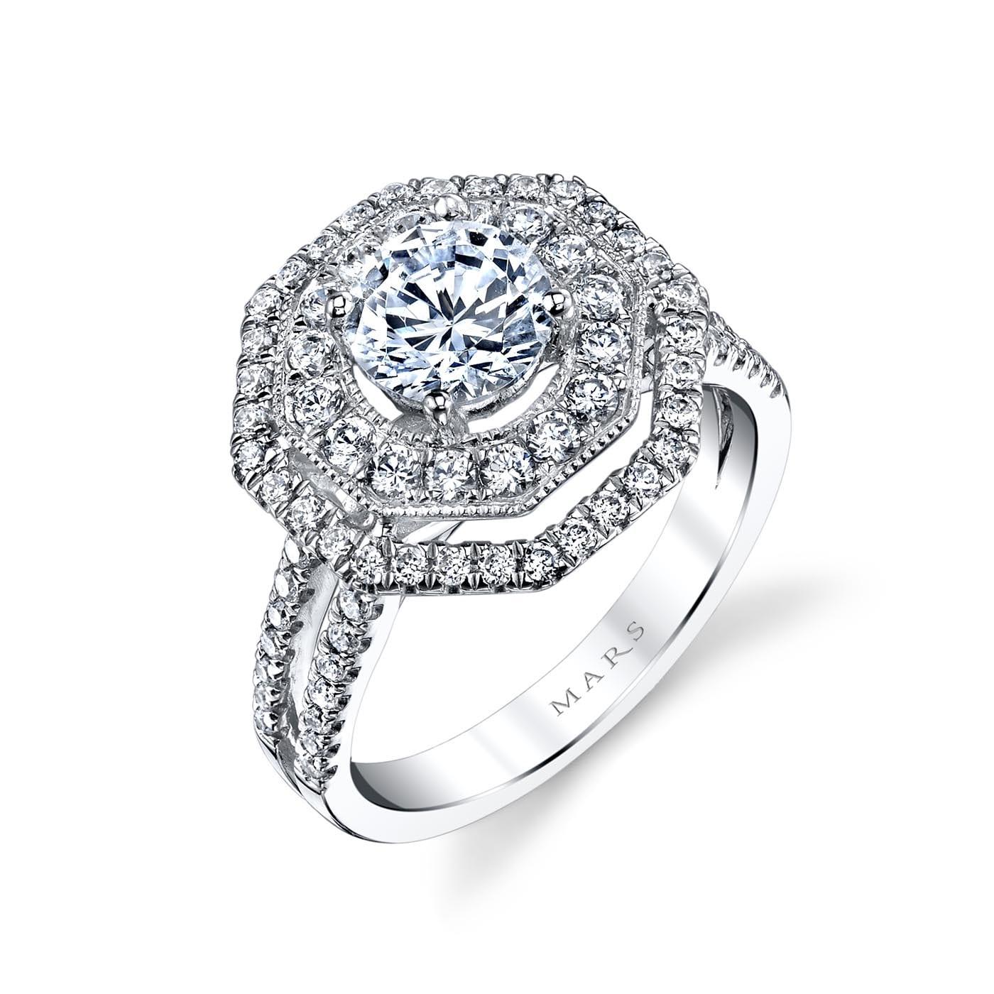 Halo Engagement RingStyle #: MARS 25620