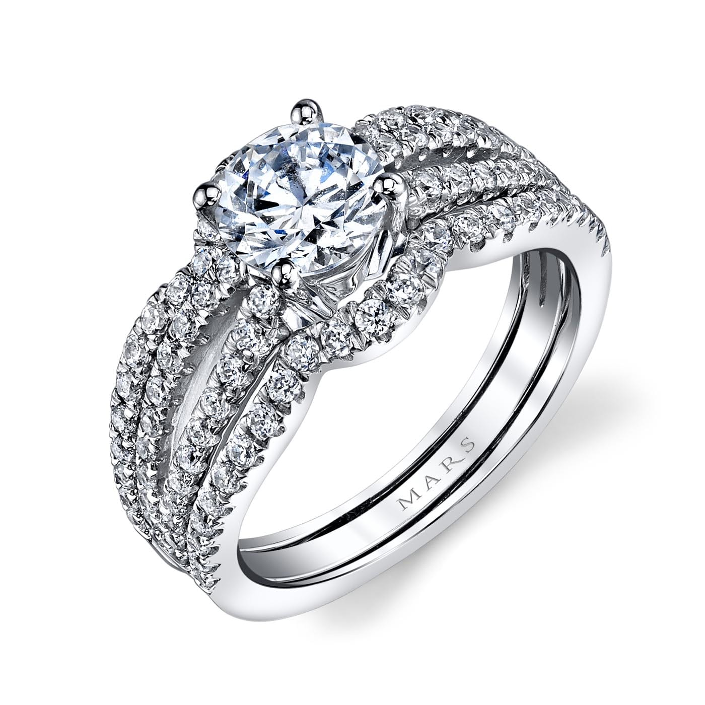 Infinity Engagement RingStyle #: MARS 25633