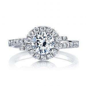 Halo Engagement RingStyle #: MARS 25648