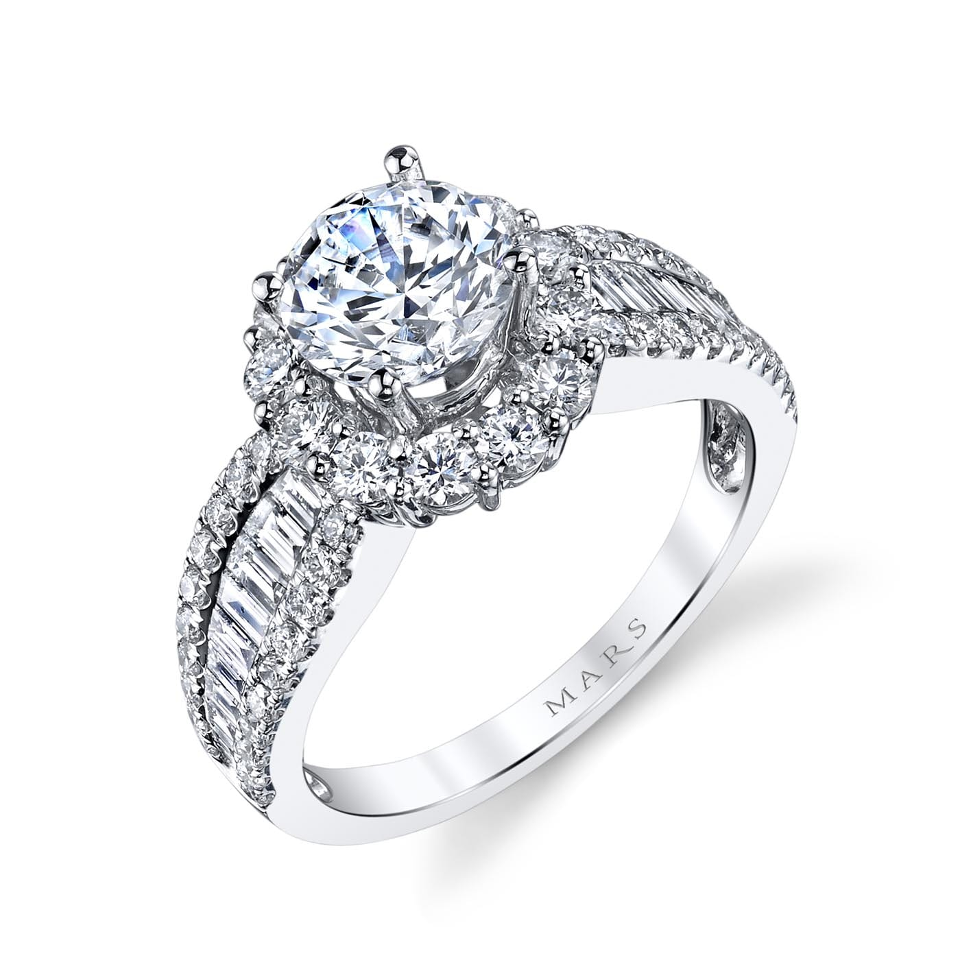 Halo Engagement RingStyle #: MARS 25649