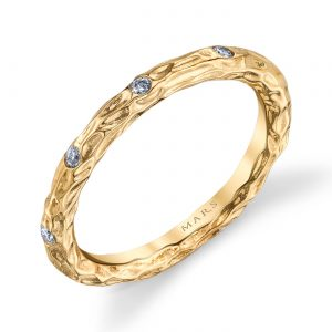 Diamond Ring - Stackable  Style #: MARS-25681YG