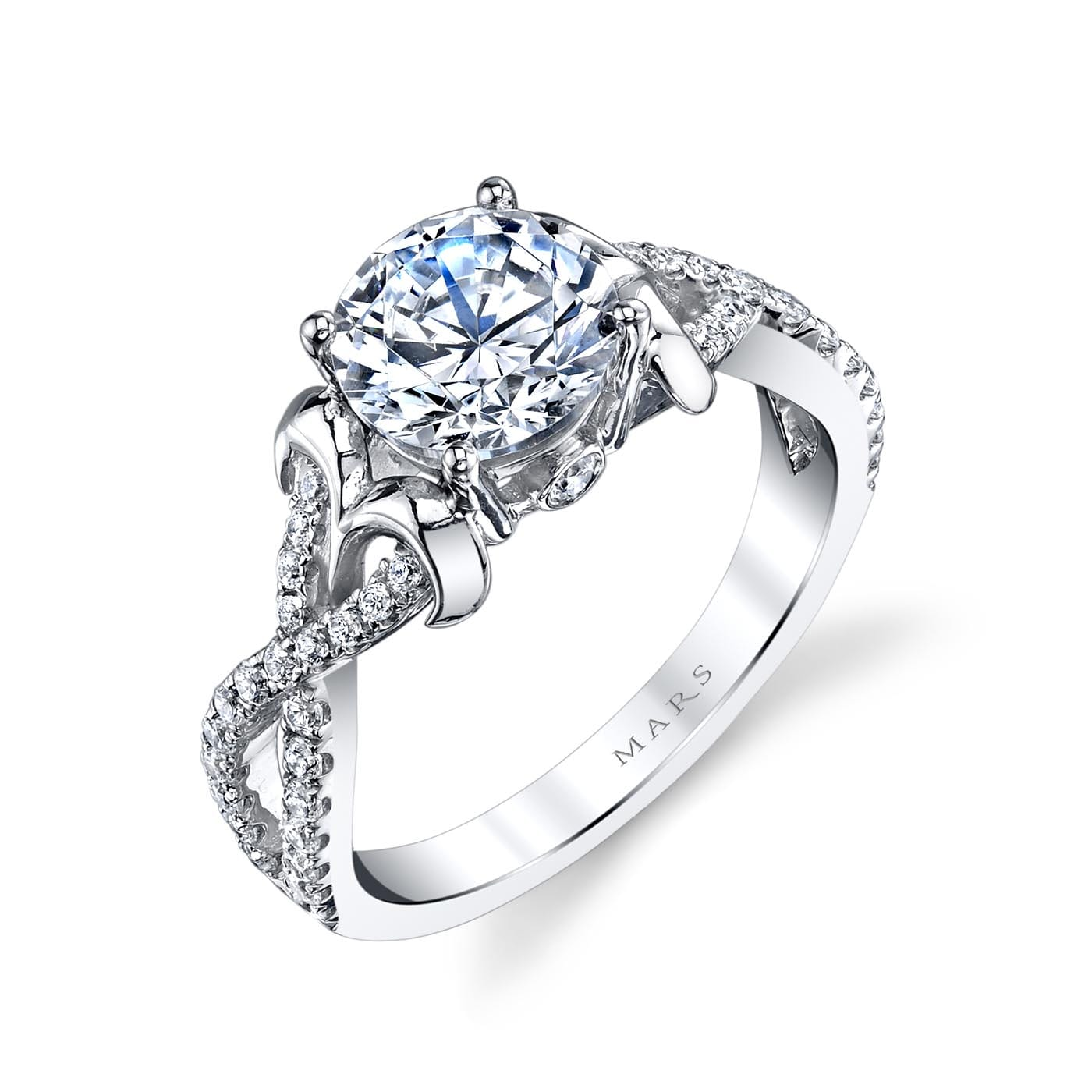 Infinity Engagement RingStyle #: MARS 25720