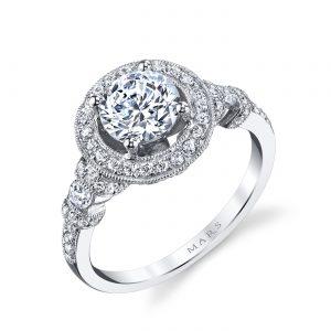 Halo Engagement RingStyle #: MARS 25723