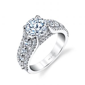 Classic Engagement RingStyle #: MARS 25734