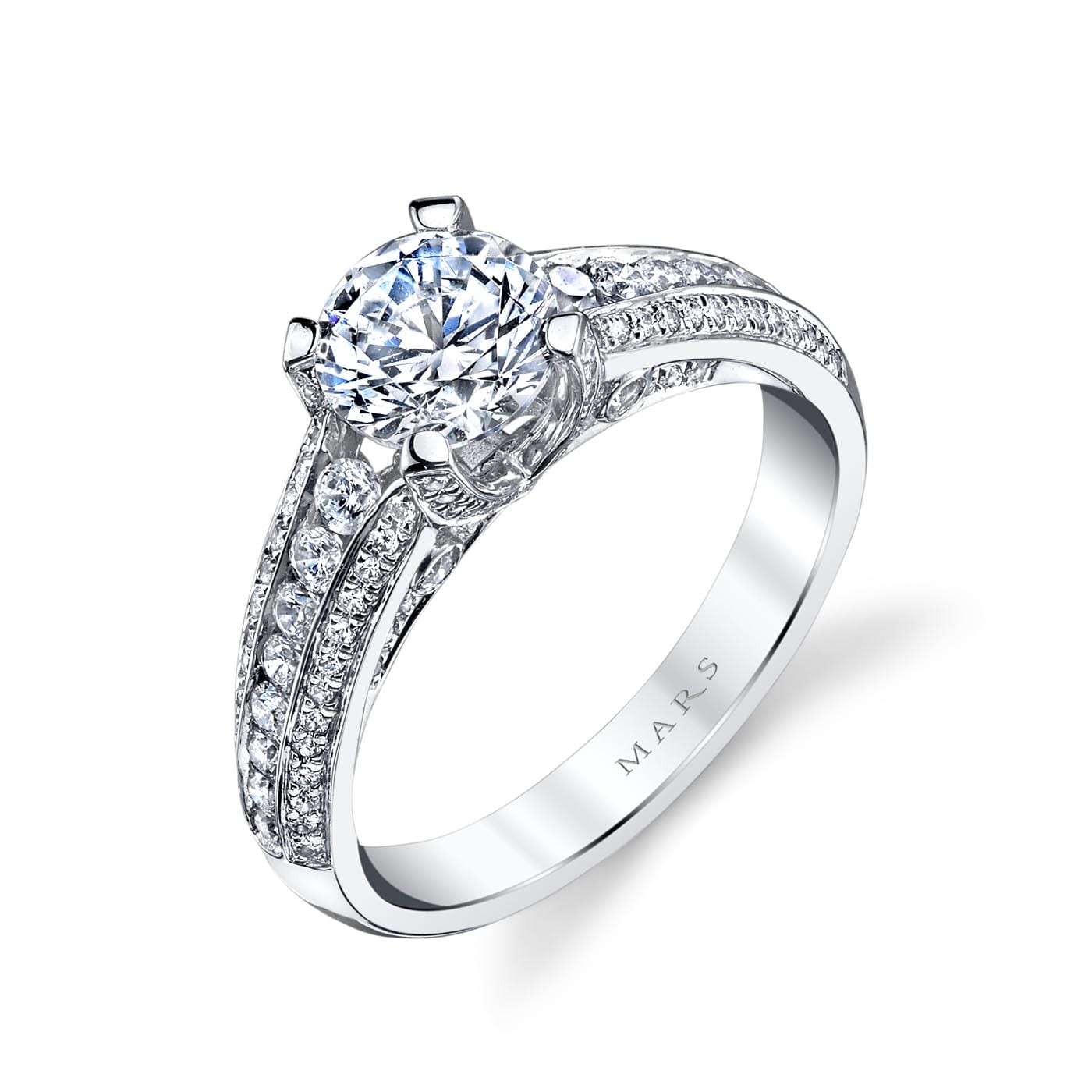 Classic Engagement RingStyle #: MARS 25735