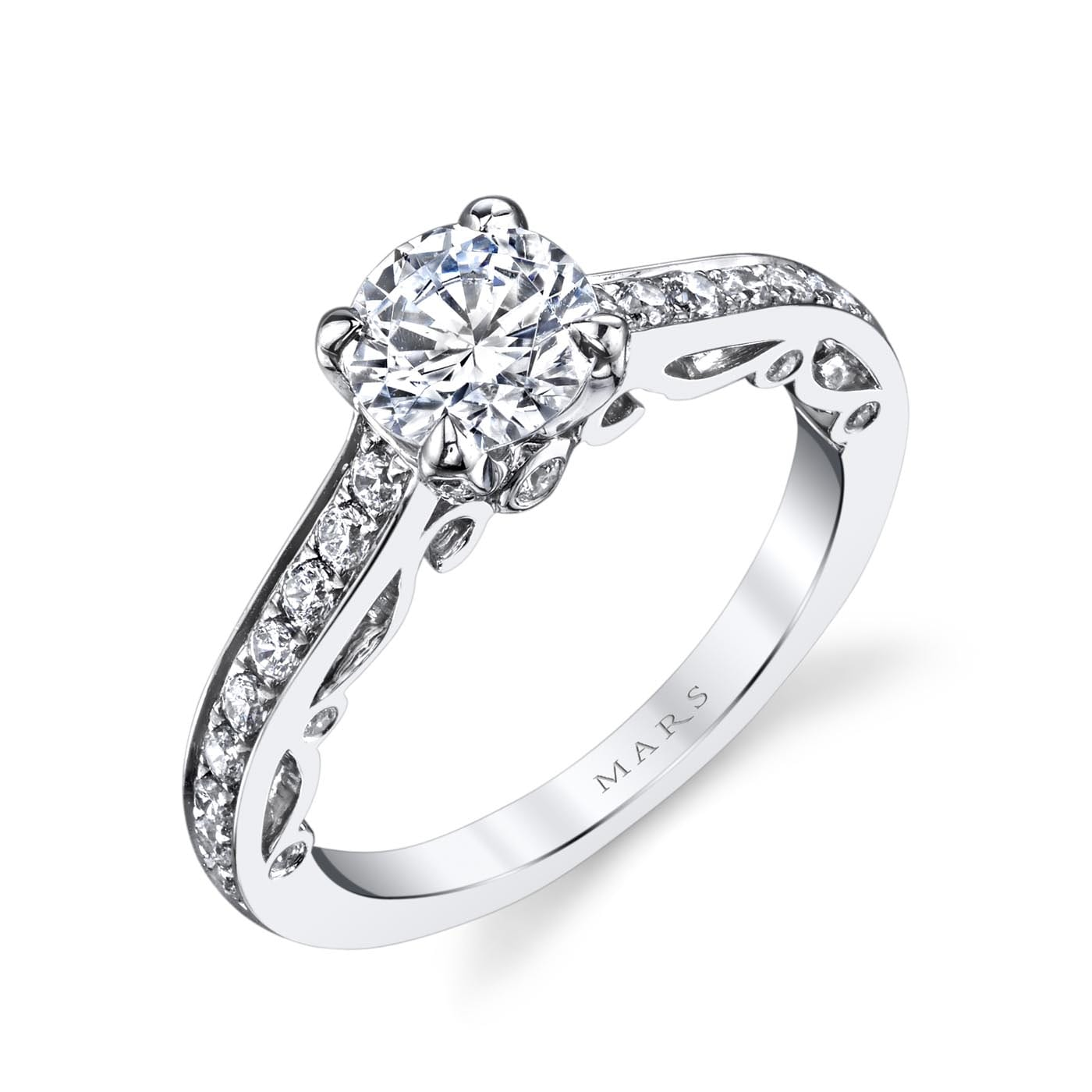 Classic Engagement RingStyle #: MARS 25736