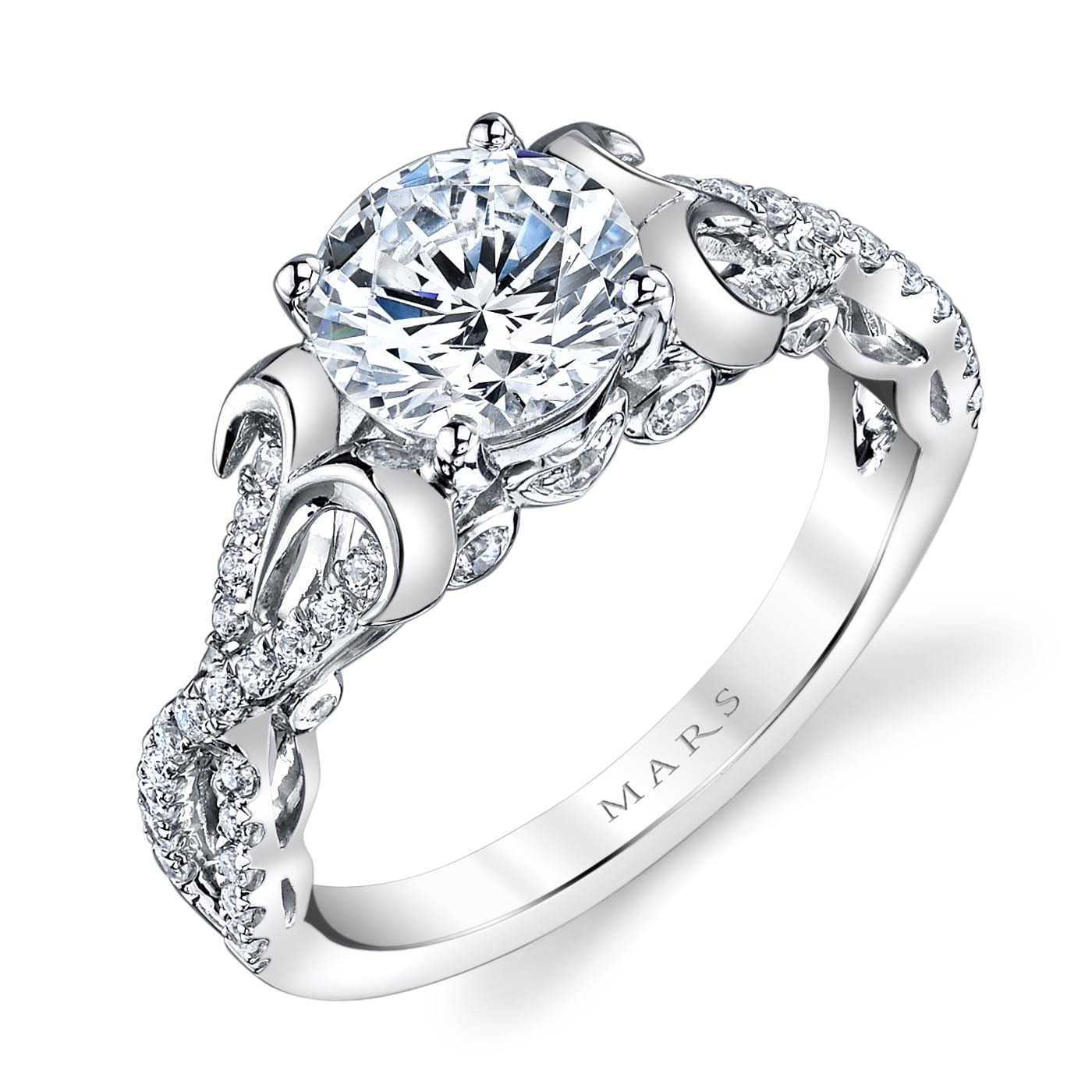 Infinity Engagement RingStyle #: MARS 25737