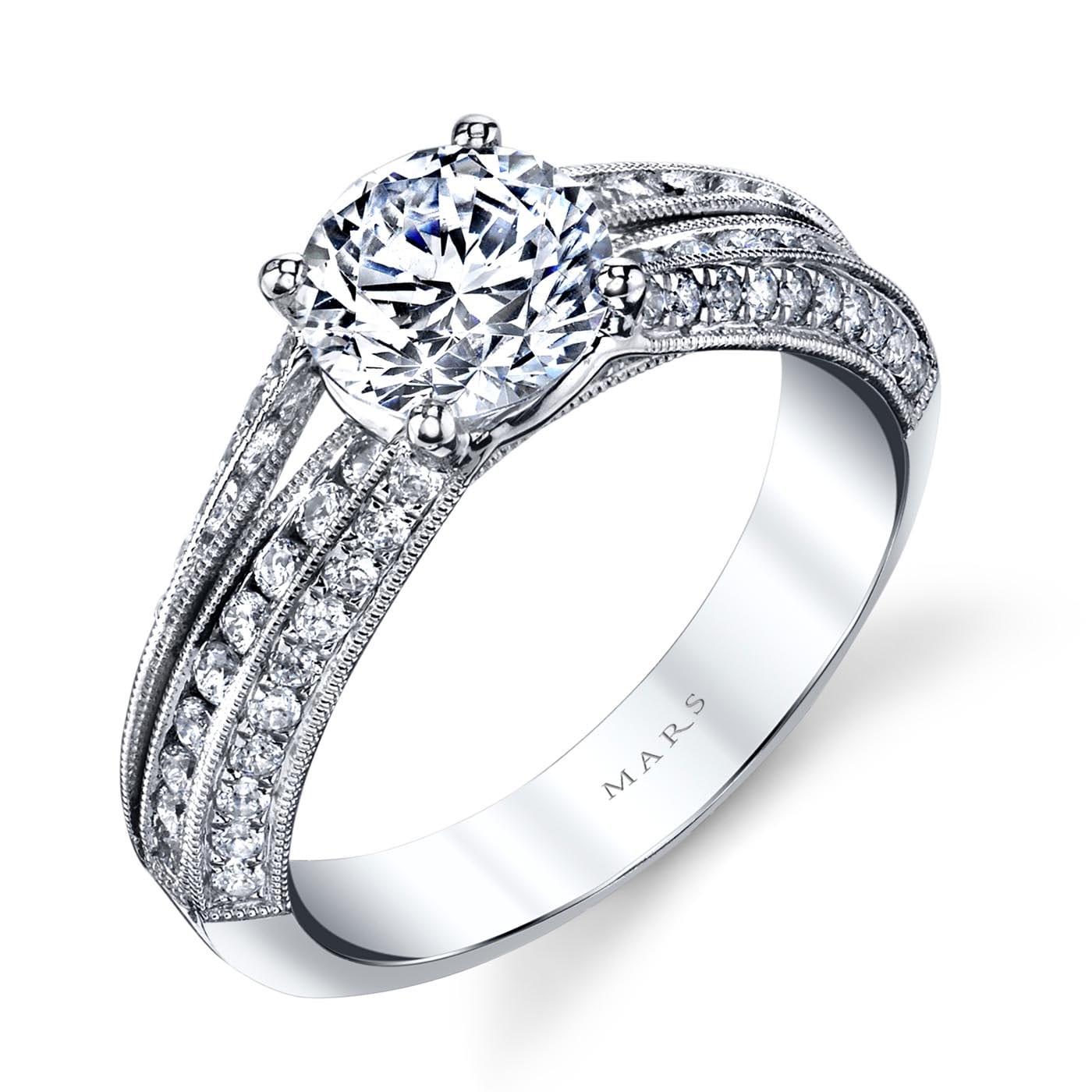 Vintage Engagement RingStyle #: MARS 25738
