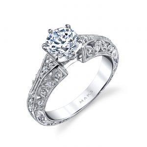Vintage Engagement RingStyle #: MARS 25777