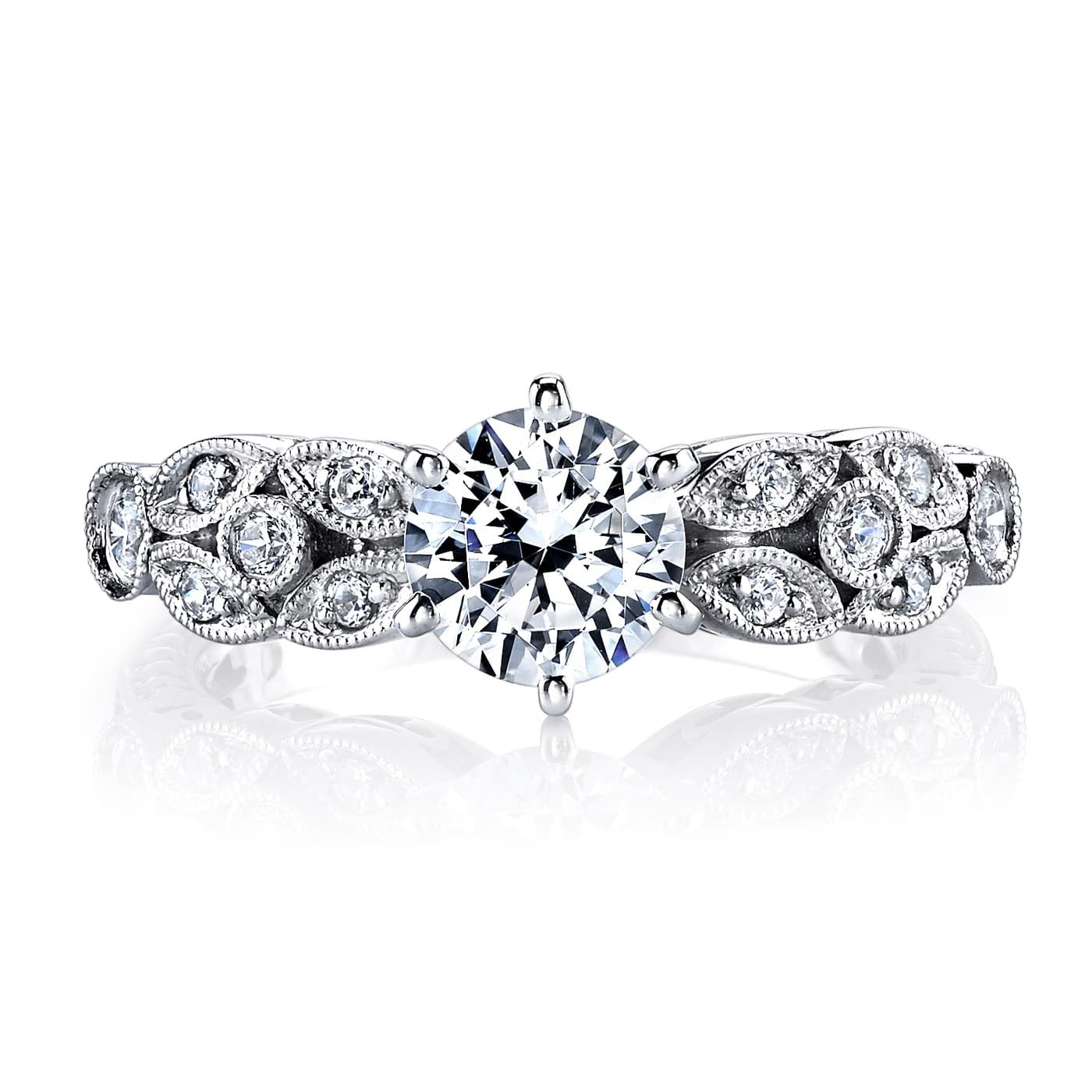 Floral Engagement RingStyle #: MARS 25779