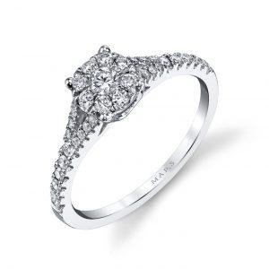Modern Engagement RingStyle #: MARS 25789