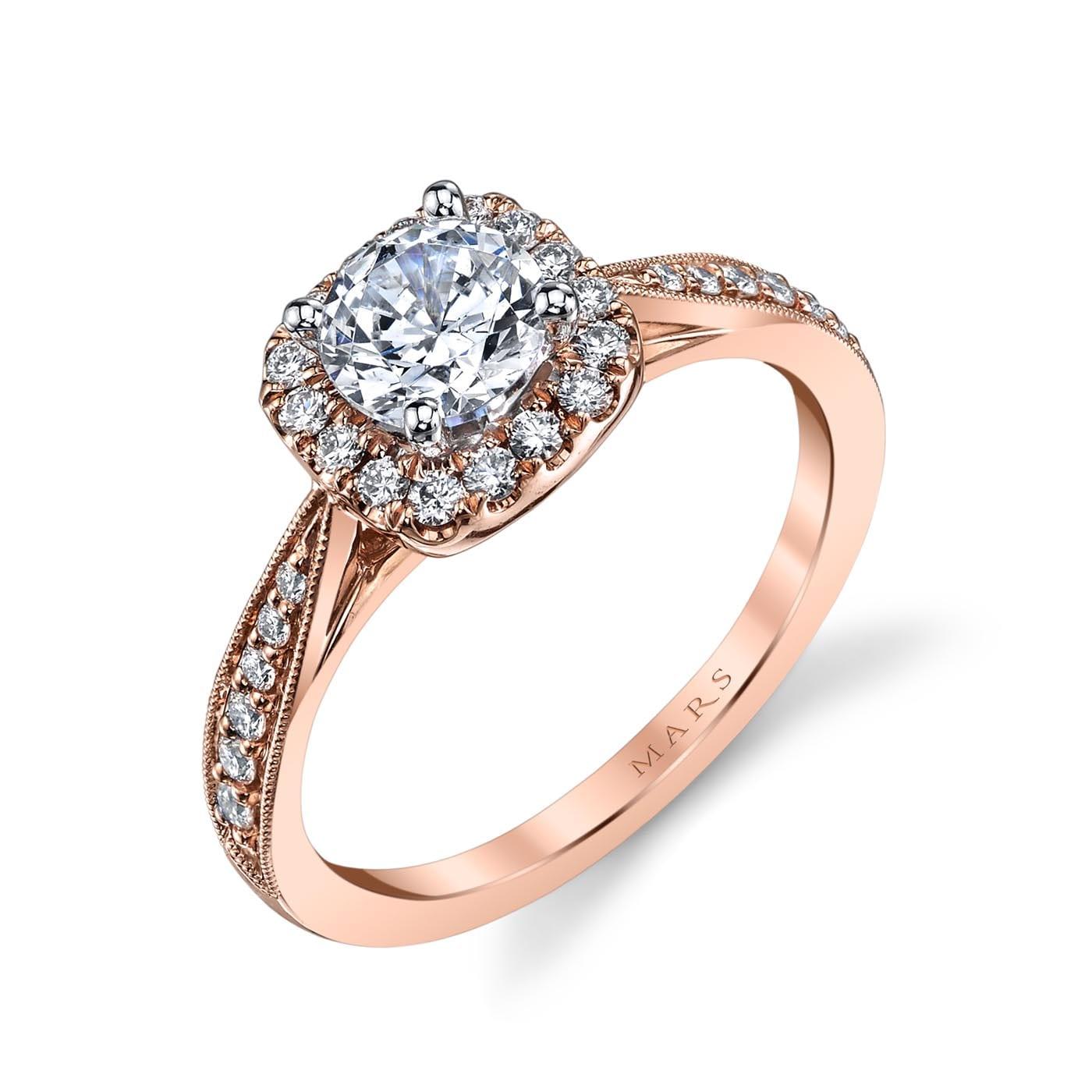 Halo Engagement RingStyle #: MARS 25804