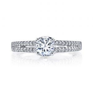 Classic Engagement RingStyle #: MARS 25813