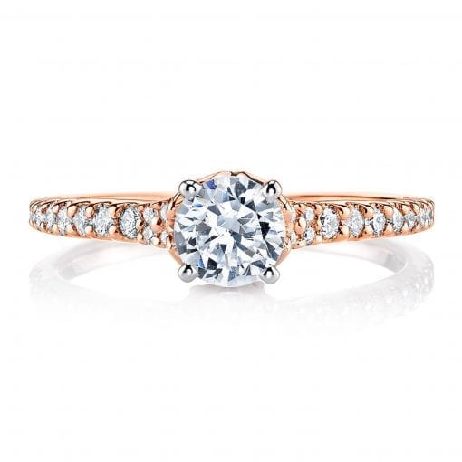 Classic Engagement Ring<br>Style #: MARS 25817
