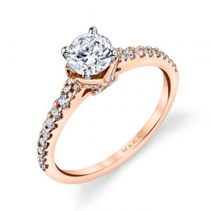 Classic Engagement RingStyle #: MARS 25817