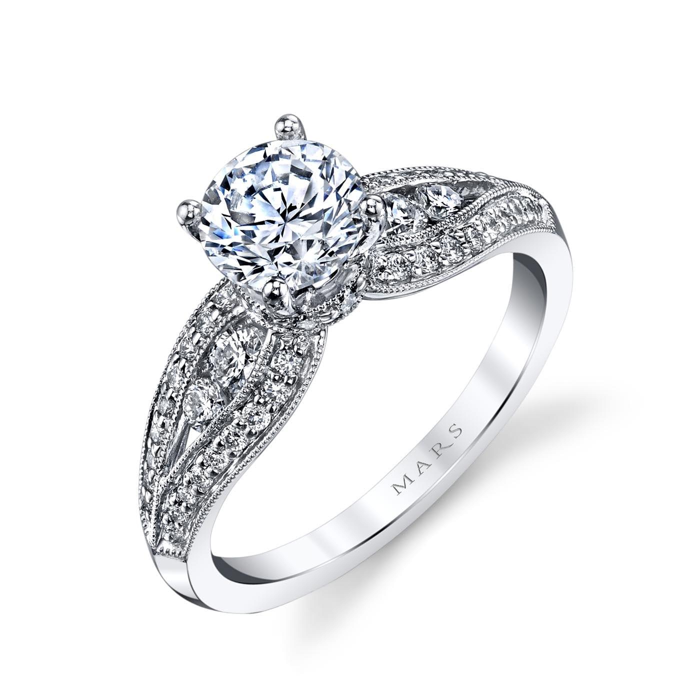 Vintage Engagement RingStyle #: MARS 25832