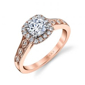 Halo Engagement RingStyle #: MARS 25833
