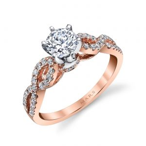 Classic Engagement RingStyle #: MARS 25840