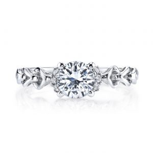 Vintage Engagement RingStyle #: MARS 25847