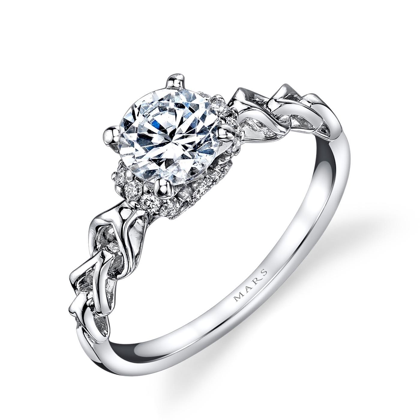 Vintage Engagement RingStyle #: MARS 25847