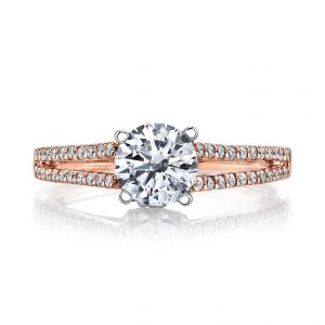 Classic Engagement RingStyle #: MARS 25851