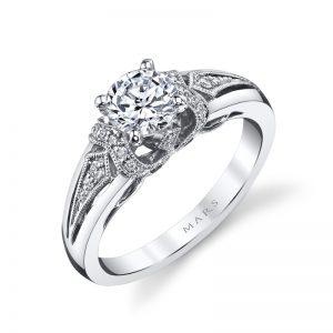 Vintage Engagement RingStyle #: MARS 25865