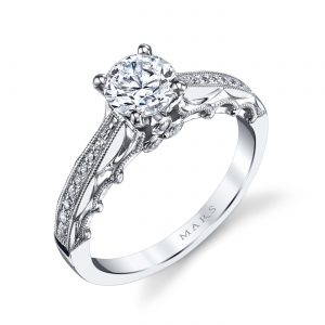 Vintage Engagement RingStyle #: MARS 25866