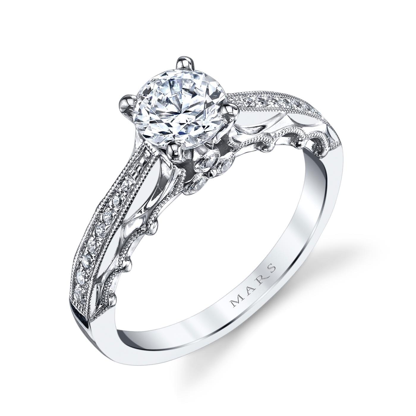 Vintage Engagement RingStyle #: MARS 25866