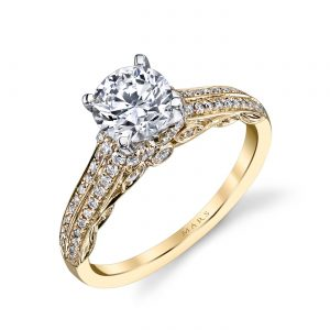 Classic Engagement RingStyle #: MARS 25868