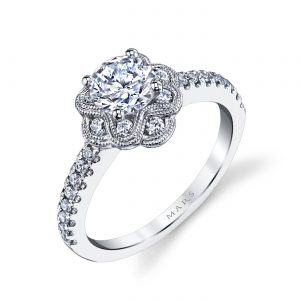 Halo Engagement RingStyle #: MARS 25871