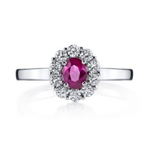 Halo Engagement RingStyle #: MARS 25909