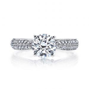 Vintage Engagement RingStyle #: MARS 25917