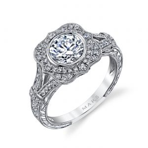 Halo Engagement RingStyle #: MARS 25939