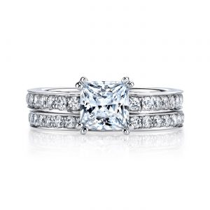 Modern Engagement RingStyle #: MARS 25942