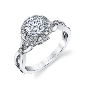 Halo Engagement RingStyle #: MARS 25950