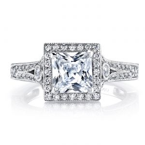 Halo Engagement RingStyle #: MARS 25965