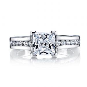 Modern Engagement RingStyle #: MARS 25969