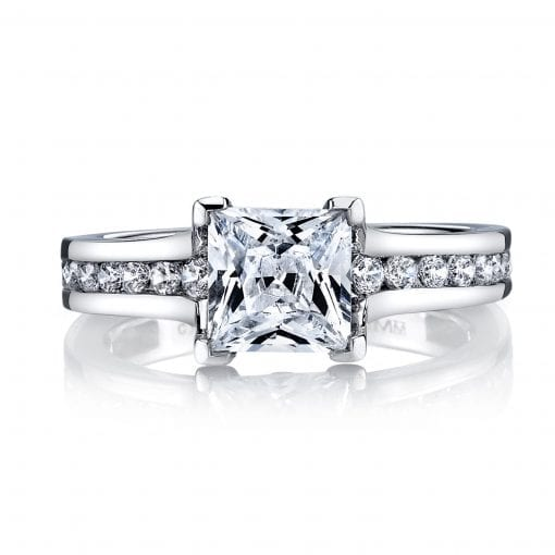 Modern Engagement Ring<br>Style #: MARS 25969
