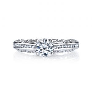 Classic Engagement RingStyle #: MARS 25989