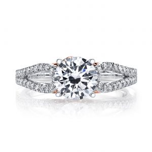 Classic Engagement RingStyle #: MARS 25993