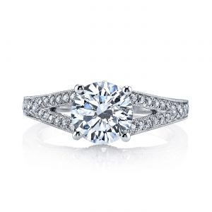 Classic Engagement RingStyle #: MARS 26004