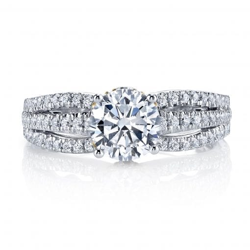 Classic Engagement Ring<br>Style #: MARS 26041TT