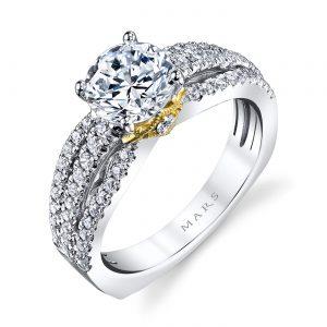 Classic Engagement RingStyle #: MARS 26041TT