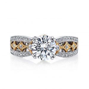 Vintage Engagement RingStyle #: MARS 26043TT