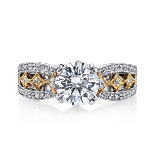 Vintage Engagement RingStyle MARS 26043TT Marks Diamonds
