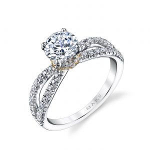 Classic Engagement RingStyle #: MARS 26097TT