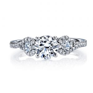 Classic Engagement RingStyle #: MARS 26132
