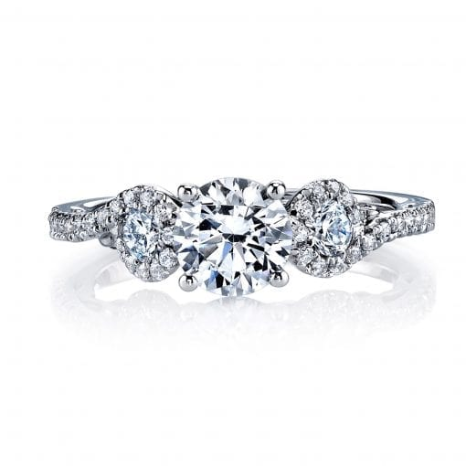Classic Engagement Ring<br>Style #: MARS 26132